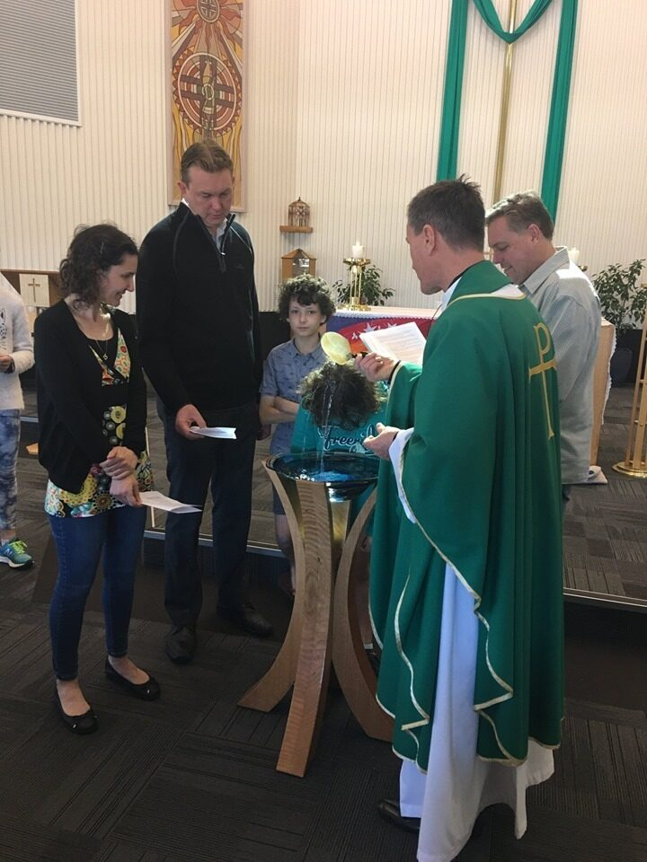 Bull creek Leeming all saints baptism