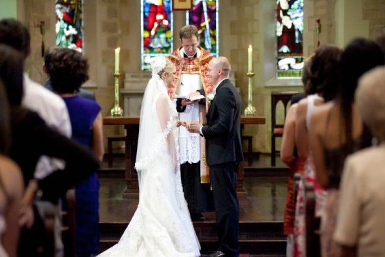 Claremont christchurch wedding