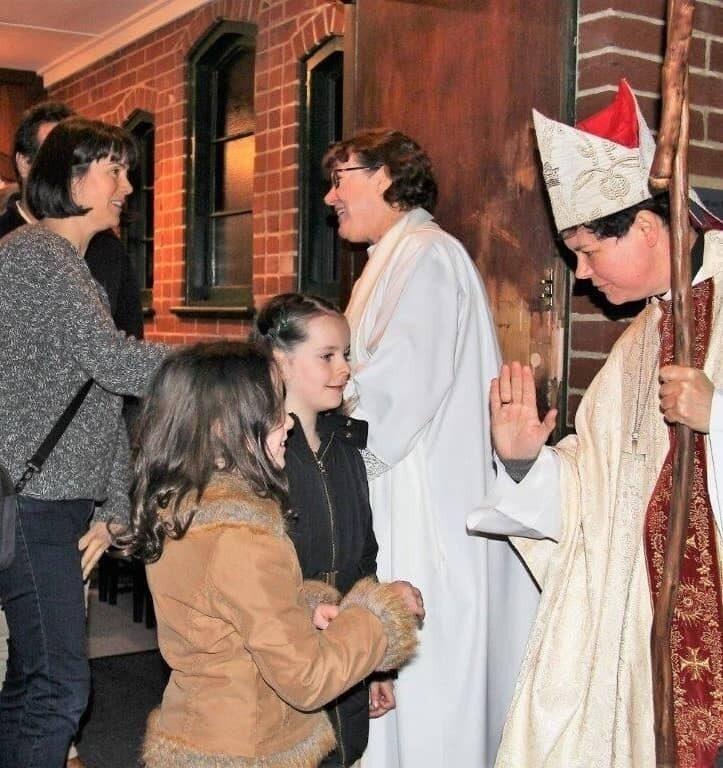 Commissioning bishop kate st hilda north perth