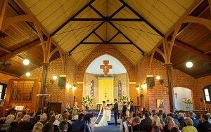 St hildas north perth wedding row 3