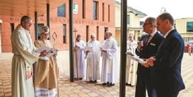 Official Opening of St Gregory's Chapel