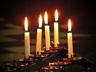 All Souls candles light