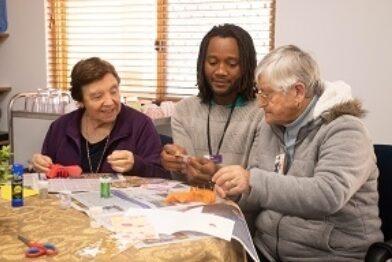 Amana Living aged care carer elderly women thumbnail