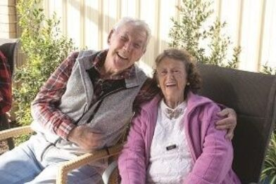 Amana Living carer aged care older couple thumbnail