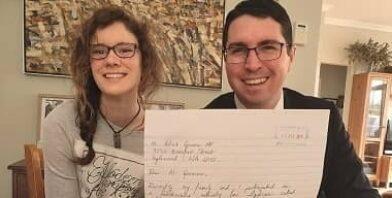 Elisabeth Hughes and Mr Patrick Gorman MP thumbnail