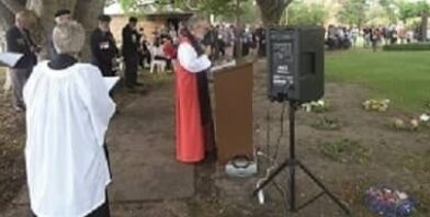 Gunners Day 2019 guildford bishop jeremy thumbnail