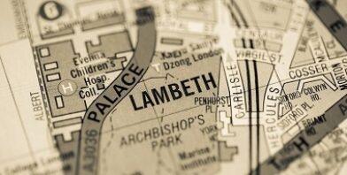 Lambeth Palace map thumbnail