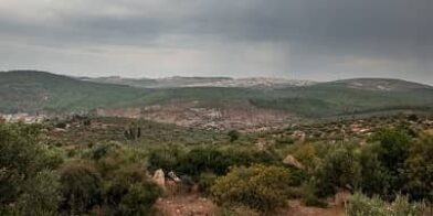 Transfiguration view Mt Tabor Israel thumbnail