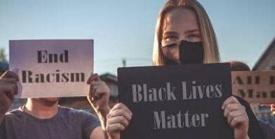 Black lives matter stop racism thumbnail