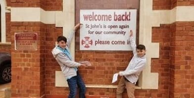 St johns goldfields church Angus and Rowan thumbnail