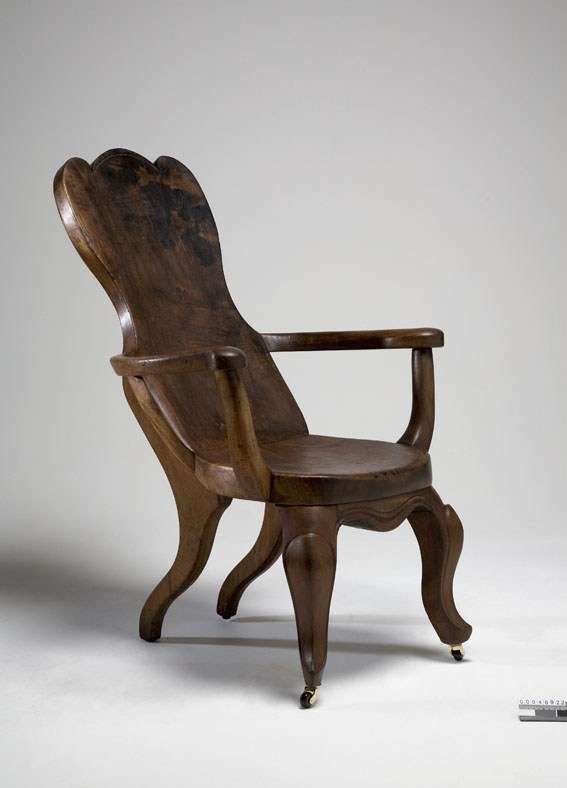 Chair made from timber from the DUNBAR wreckage, ANMM Collection