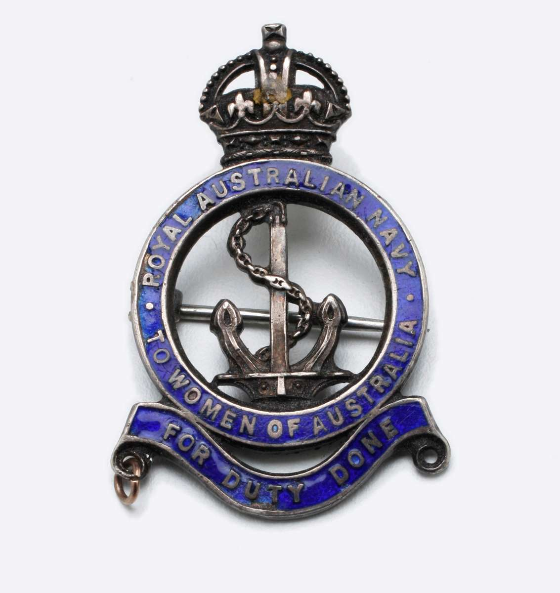 WWI Royal Australian Navy female relative badge