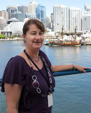 Photo of Anne the education officer