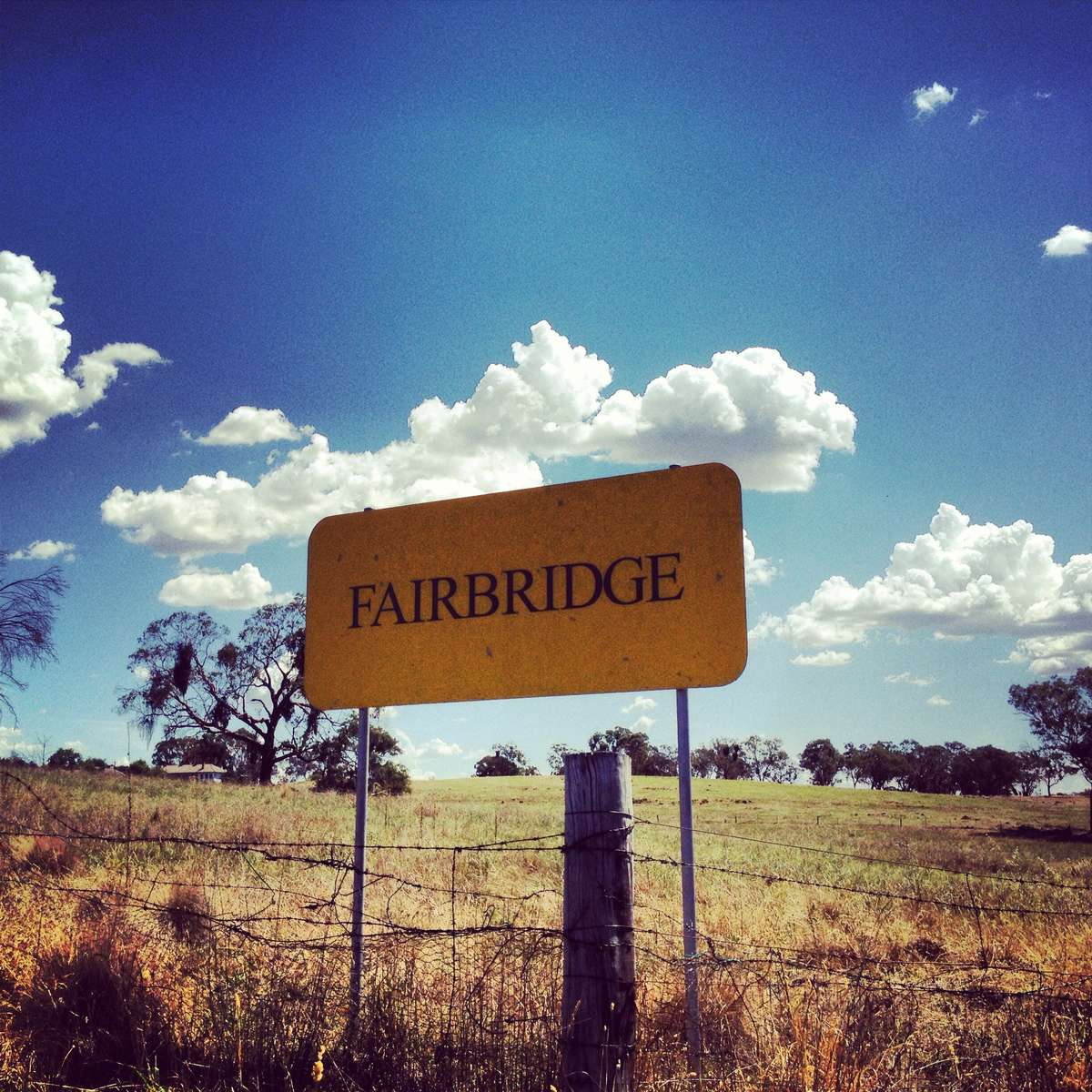 Fairbridge Farm, Molong NSW. ANMM photo 2013