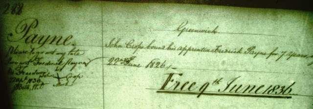 Photo of diary entry