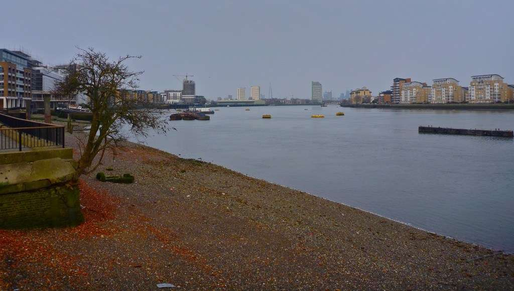 Photo of the Thames River in London
