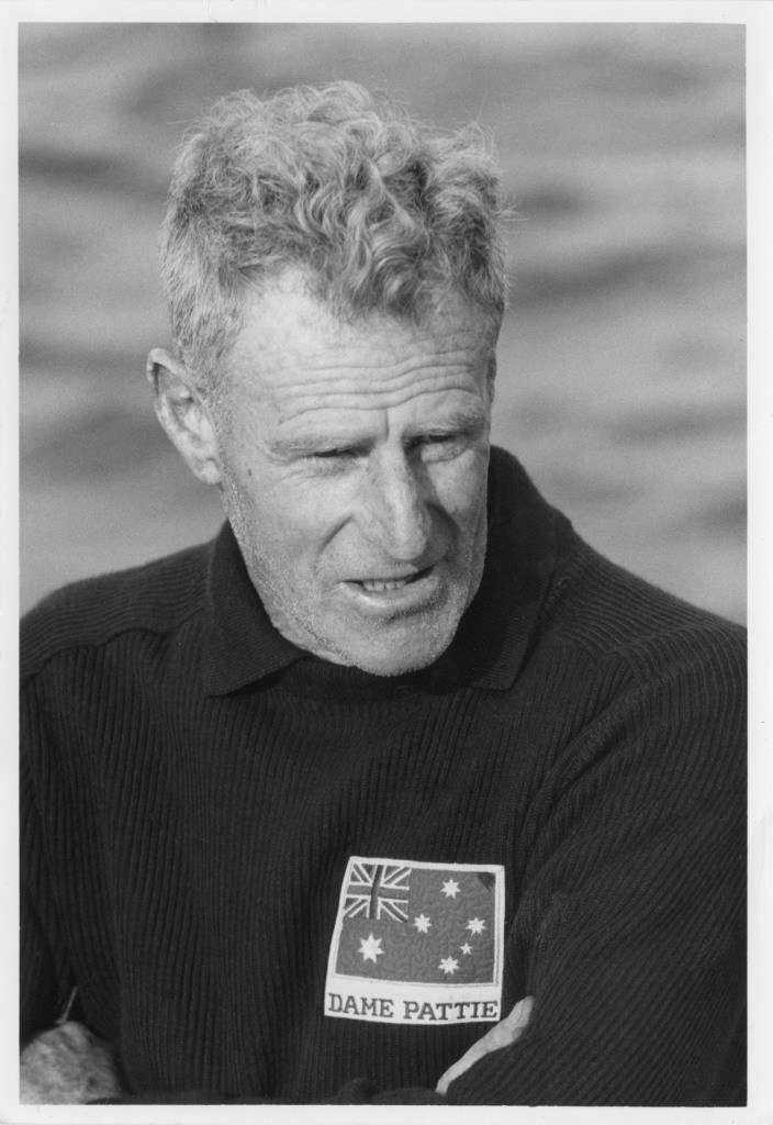 Bill Barnett, crew member of the 1967 America's Cup challenger DAME PATTIE, c 1967. Copyright. ANMM Collection Gift from Graeme Andrews