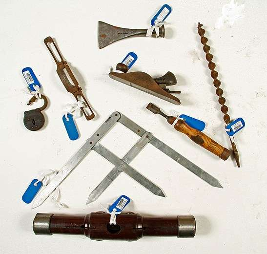 Selection of shipwright tools