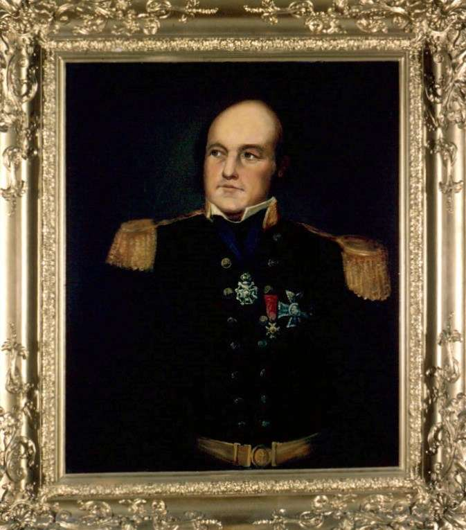 Painting of Sir John Franklin, late 18th to mid 19th century ANMM Collection