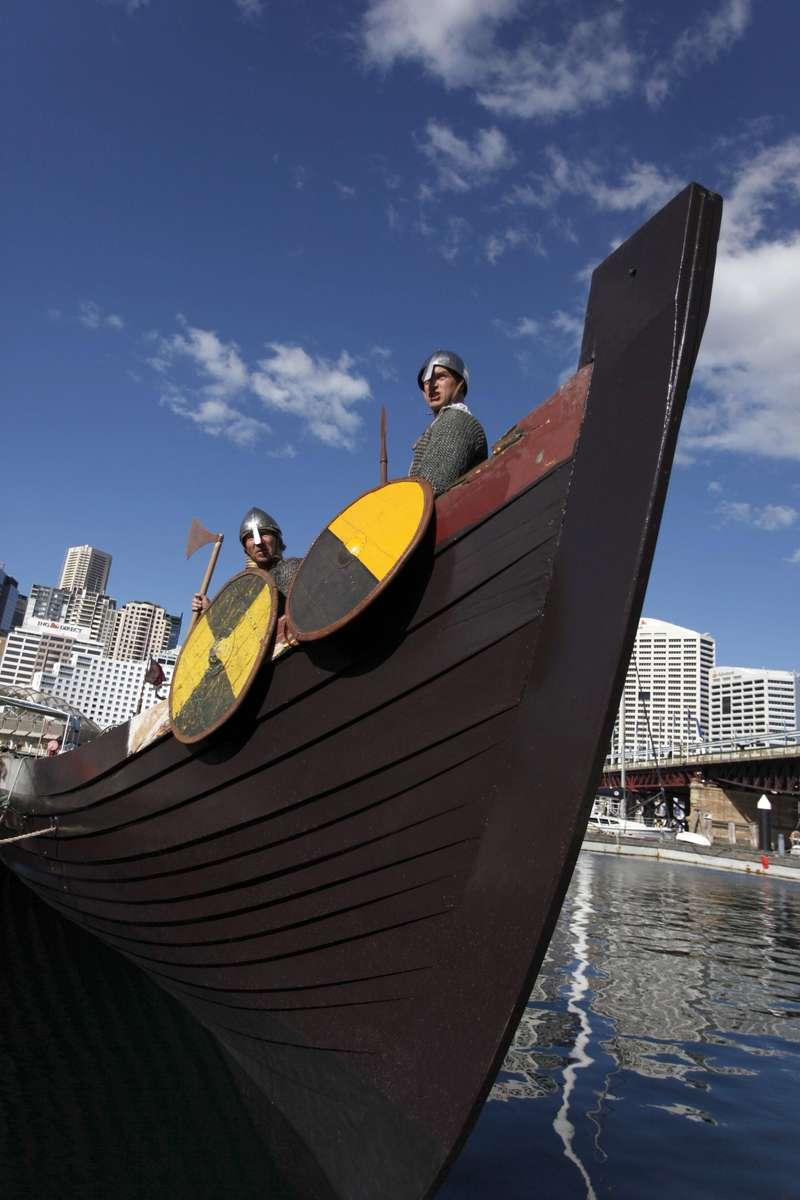 Vikings aboard Jorgen