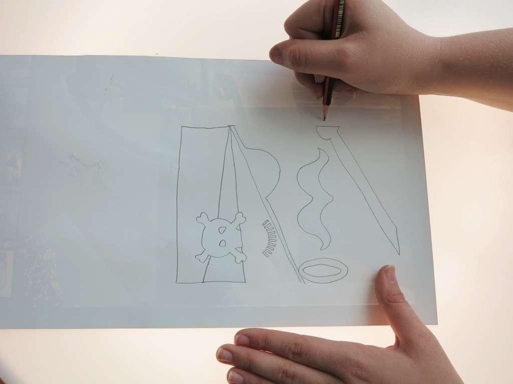 trace the stencil