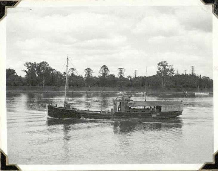 MV KRAIT c 1943. National Archives of Australia photo album, barcode 235466