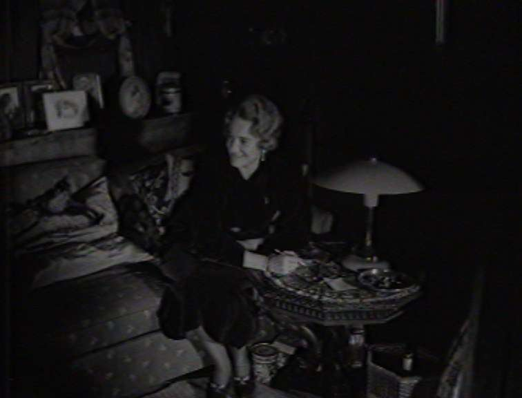 Countess Ingeborg von Luckner on Seeteufel. Screen capture reproduced courtesy of National Film and Sound Archive of Australia