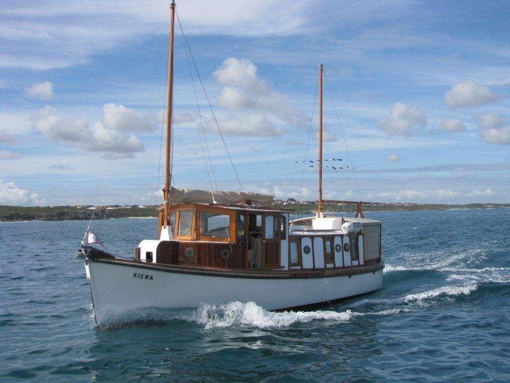 MV Kiewa, after restoration. Photos courtesy Ron Lindsay
