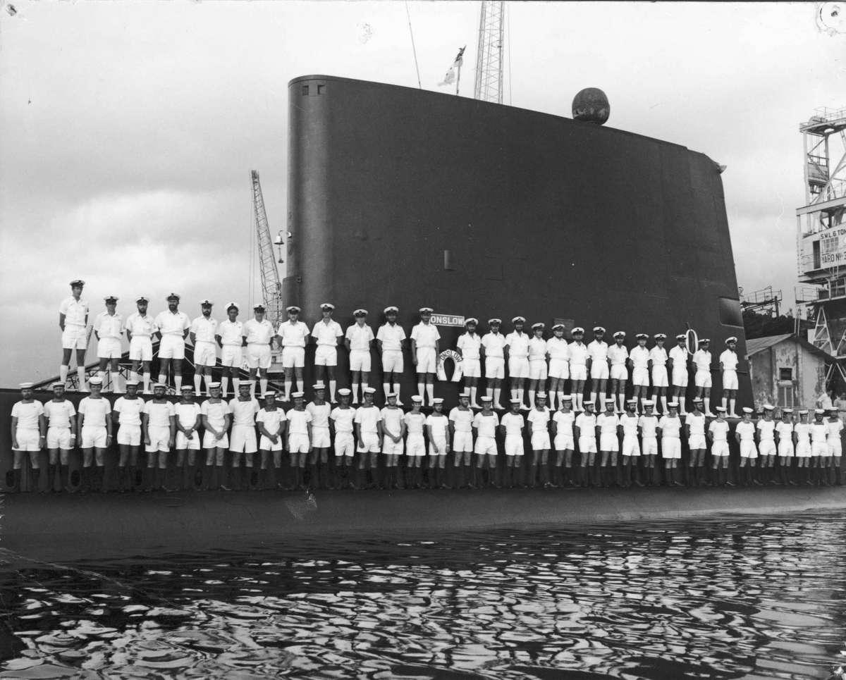 HMAS Onslow during service