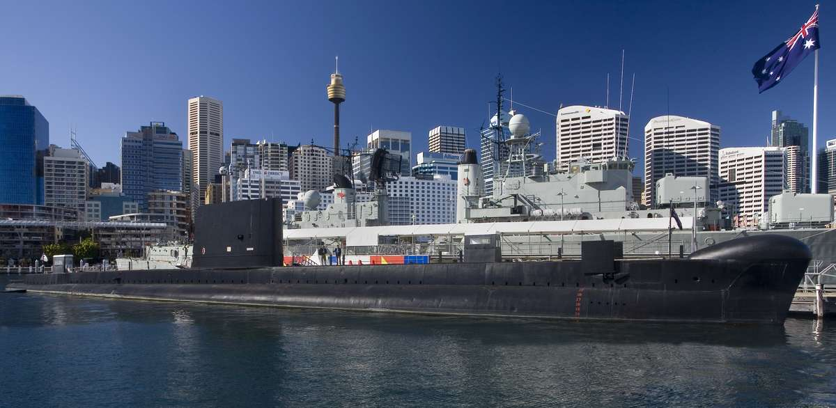HMAS Onslow today