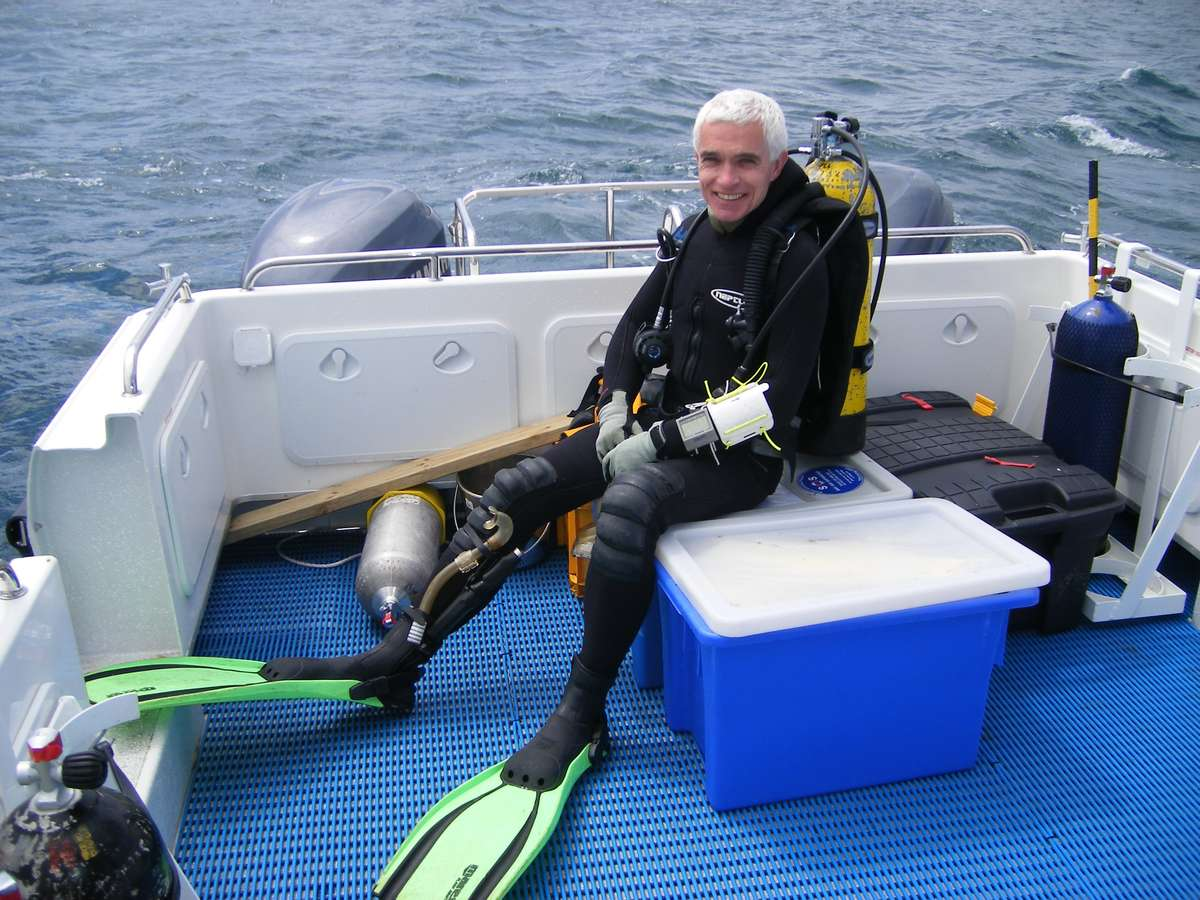 ANMM archaeologist, Keiran Hosty, team leader of the Mermaid Project