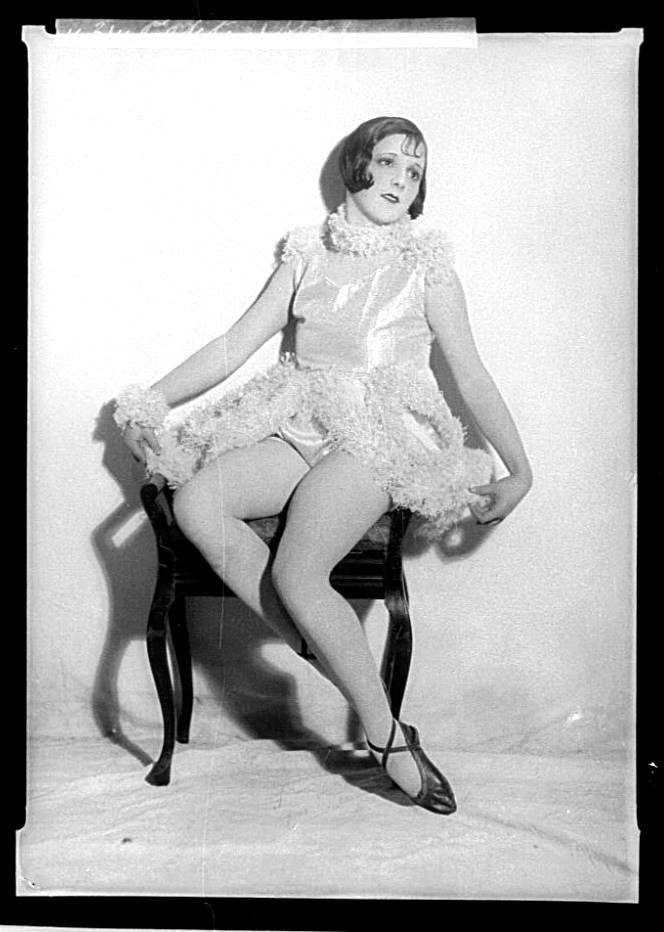 Cabaret artist Peggy Petite, c 1927. Photographer William J Hall. ANMM Collection 00013274