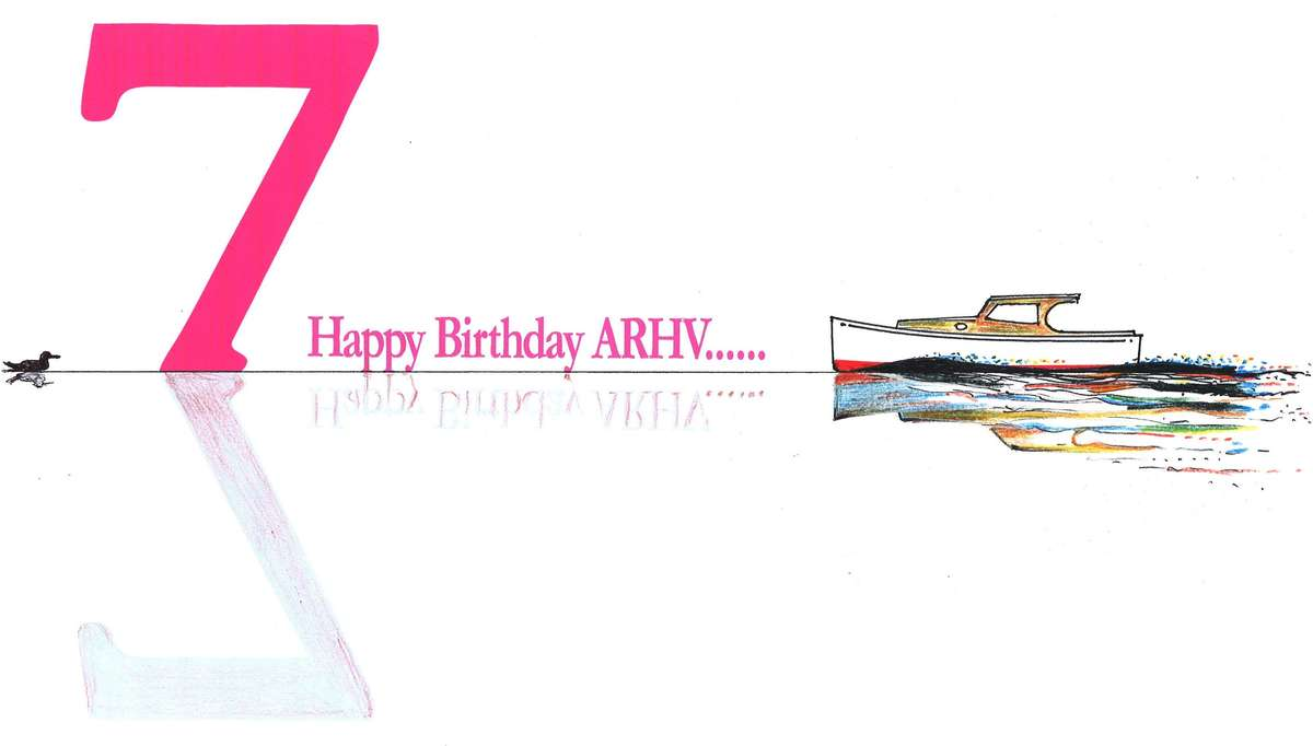 birthday card ARHV