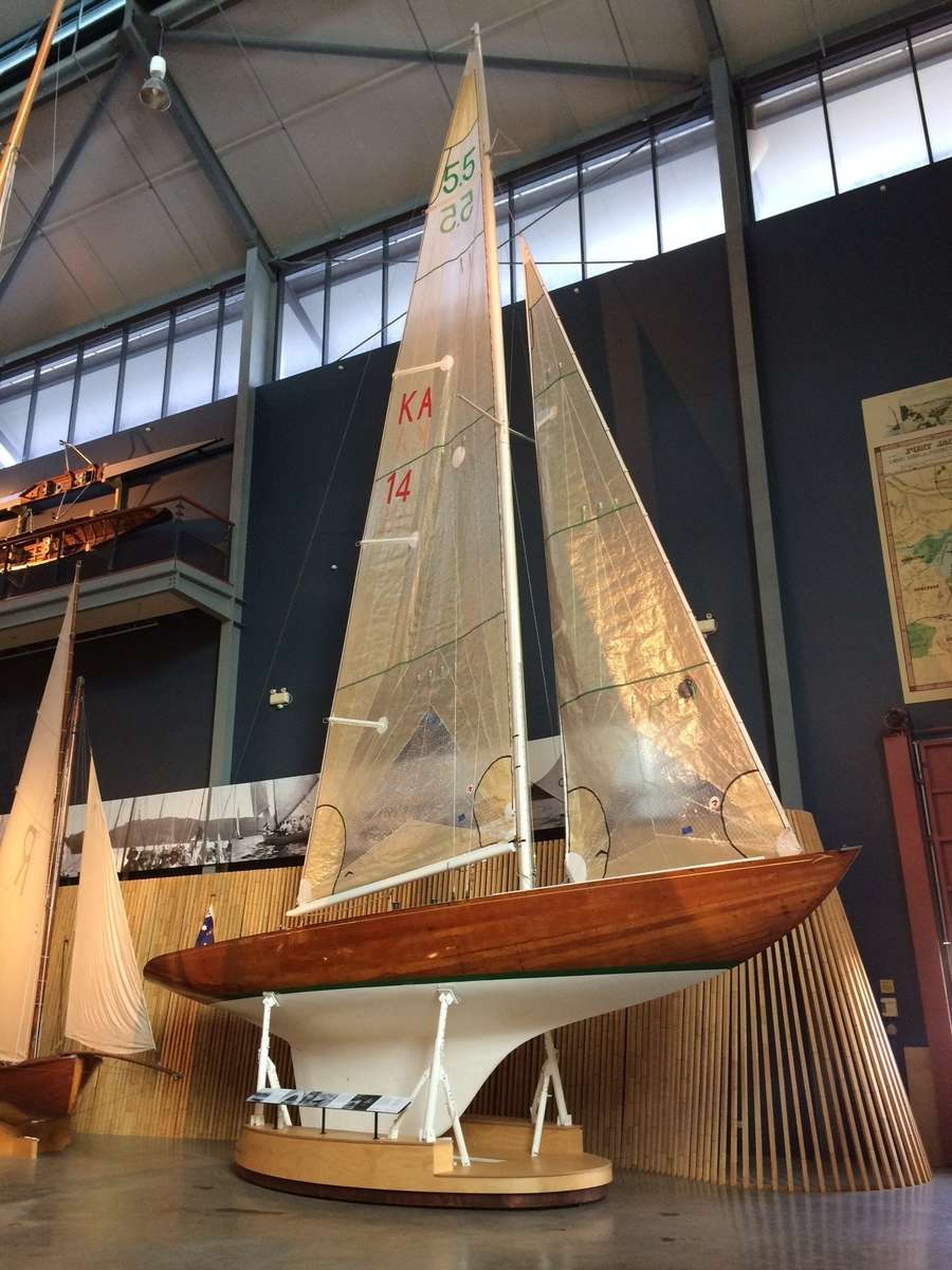 BARRANJOEY on display at Wharf 7, ANMM Collection