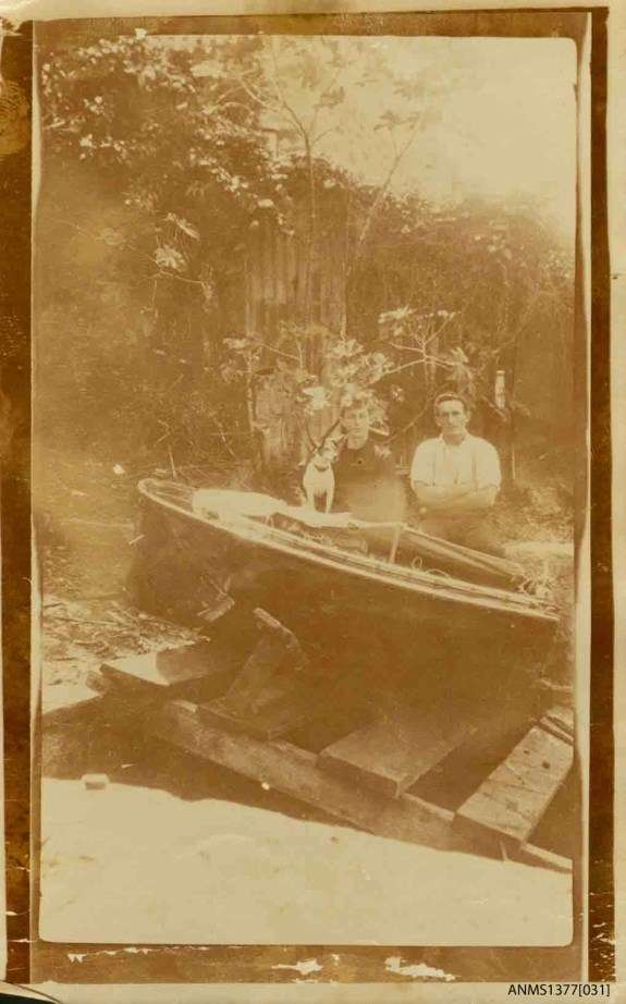 Photograph of Georgie Robinson