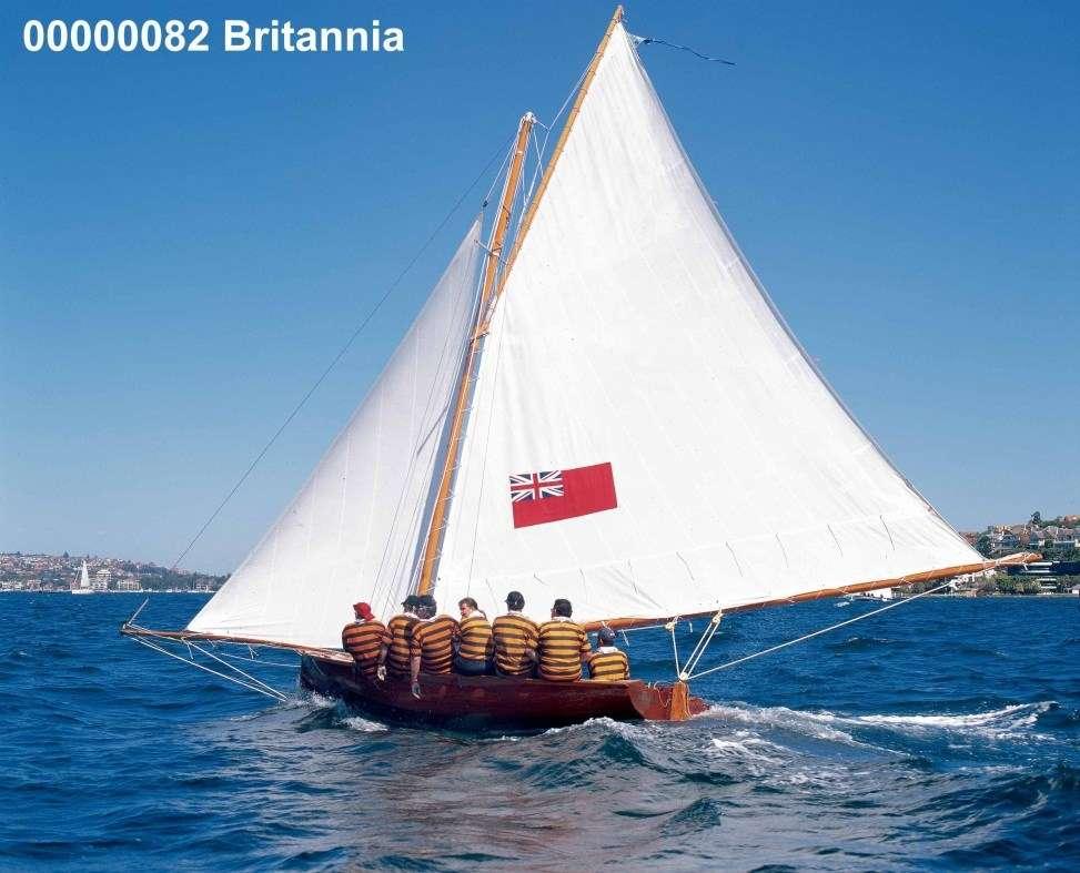 BRITANNIA on the water