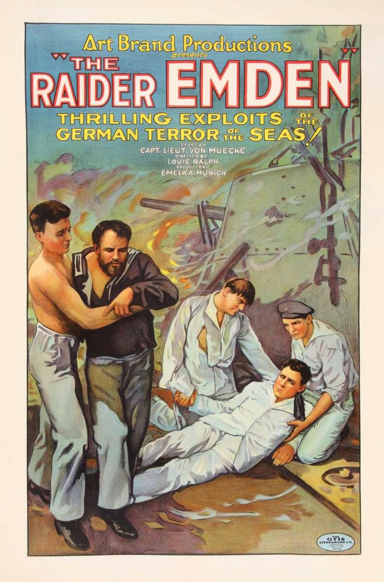 Raider Emden Poster