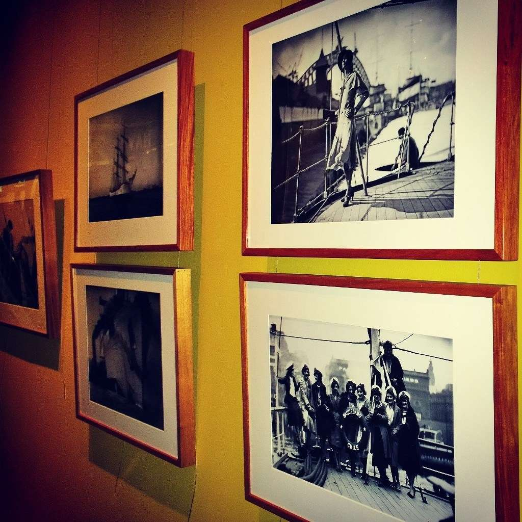 Behind the scenes at our #HoodsHarbour install! Photo: Nicole Cama, ANMM Instagram @anmmuseum