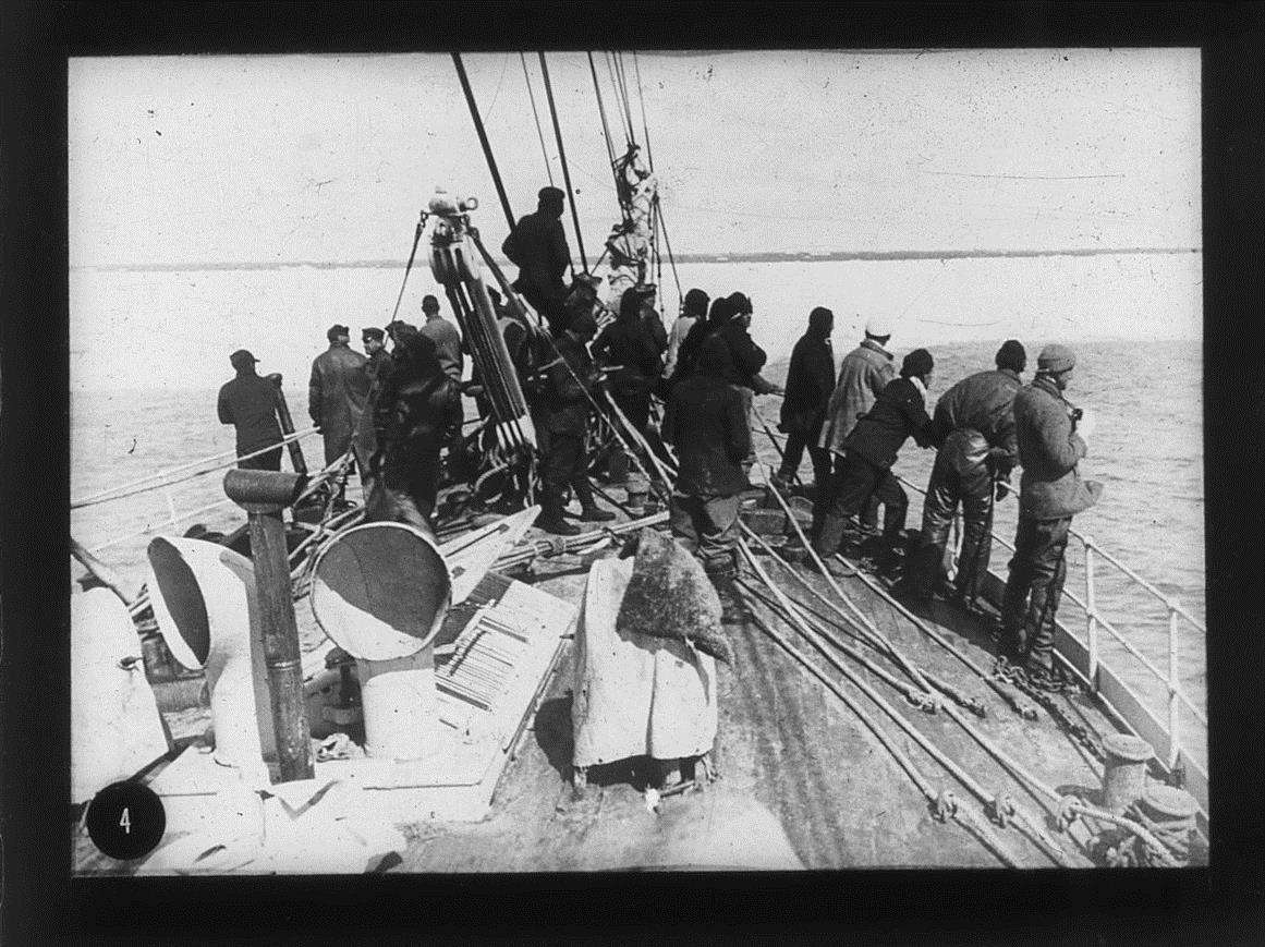 Crew on board the TERRA NOVA