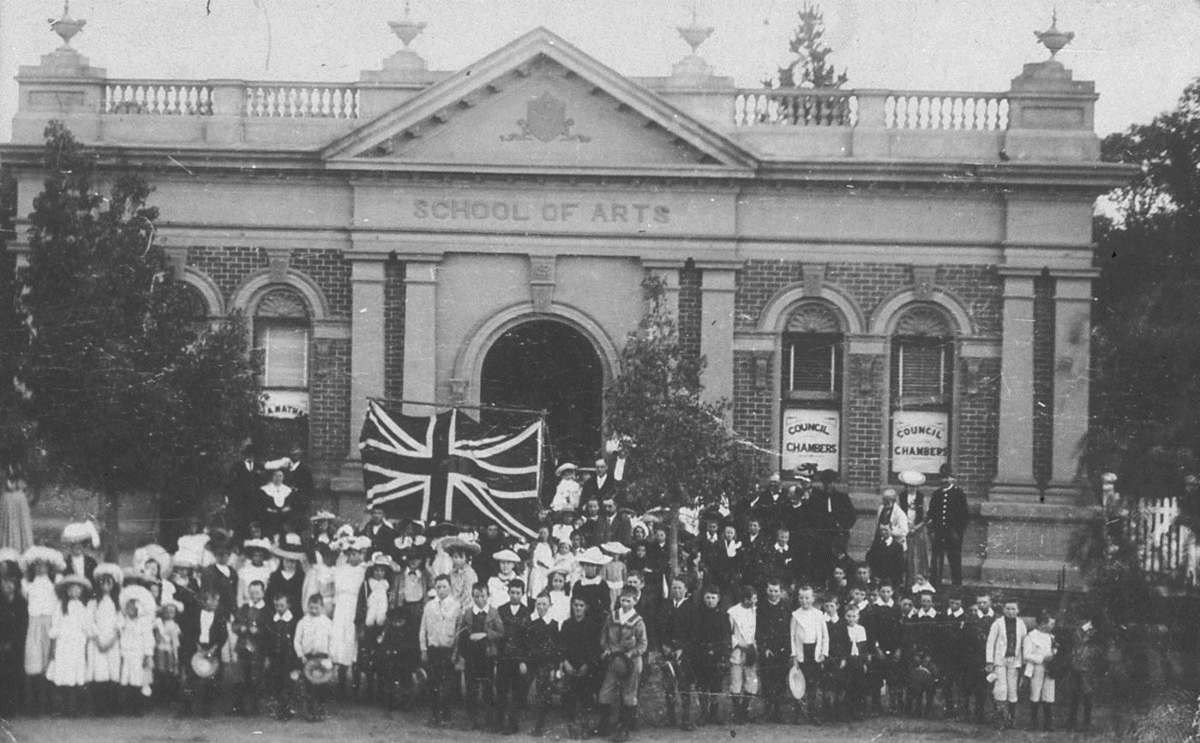 Empire Day was avidly  celebrated throughout Australia from 1907. State Library NSW
