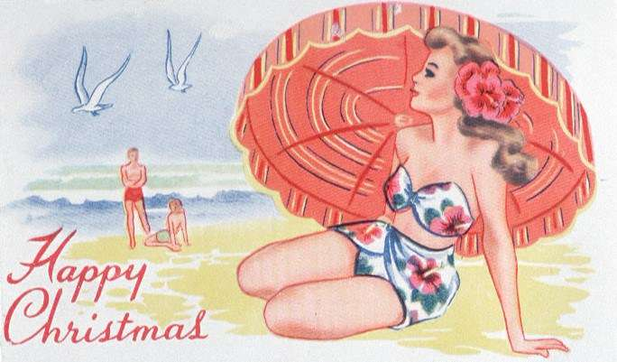 Christmas card from the ANMM collection