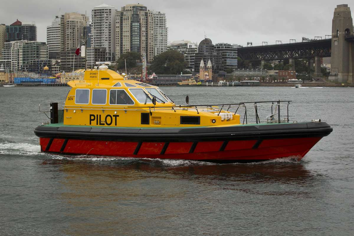 SPC launch new pilot boat - Sever  ©Brendan Read 2012