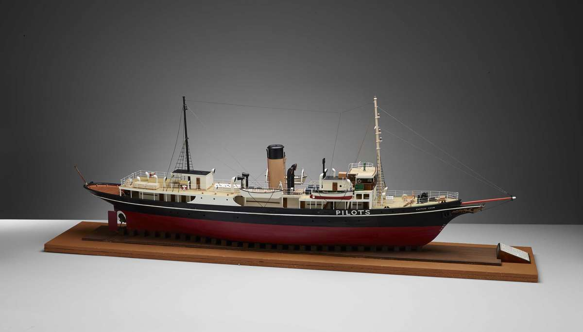 Model of Pilot Steamer Captain Cook III