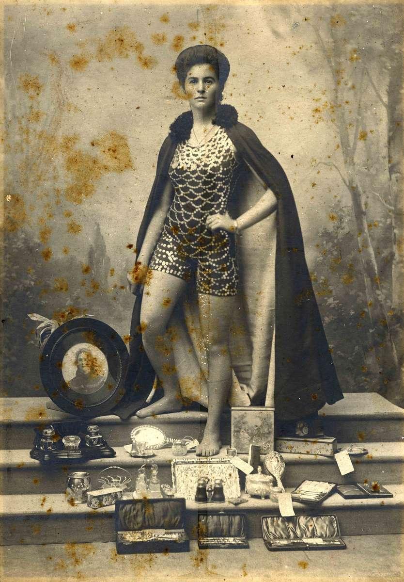 Beatricke Kerr in her 'Mermaid' swimsuit