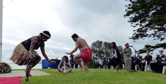'Descendance' indigenous dancers