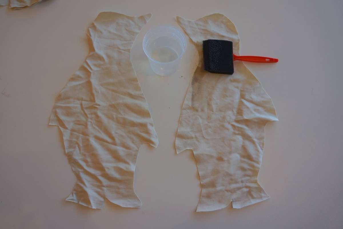 wet fabric