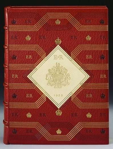 The bible designed by Lynton Lamb for Queen Elizabeth