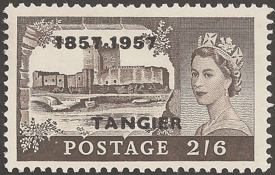 Part of the stamp series designed by Lynton Lamb in 1953.