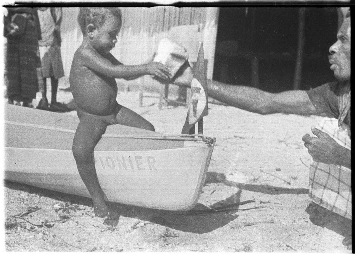 Toddler on Sunnschien. ANMM collection