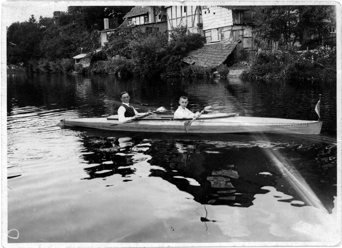 Oscar in Sunnschien in Germany circa 1930. ANMM collection